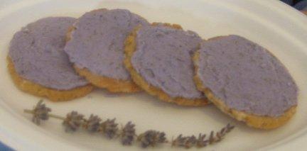 Lavender Tea Cookies