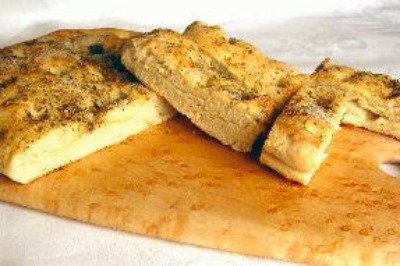 Lavender Focaccia Bread