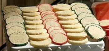 Lemon Sable Cookies