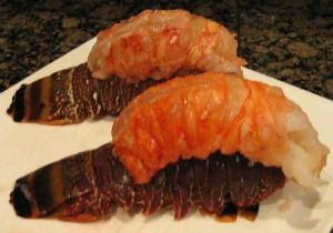 Piggy Back Lobster Tails