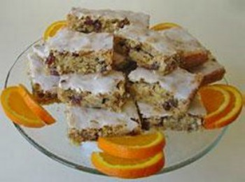Orange Date Nut Bars