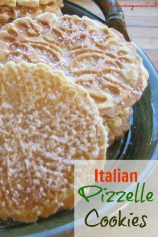 talian Pizzelle Cookies