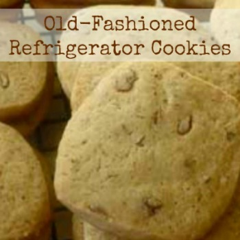 Old Fashion Refrigerator Cookies Recipe Icebox Cookies