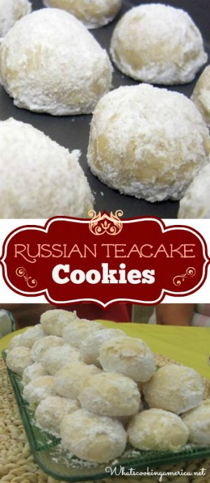 Russian Teacake Cookies