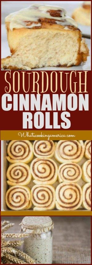 Sourdough Cinnamon Rolls