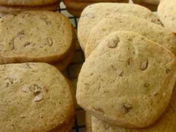 Vanilla Nut Refrigerator Cookies