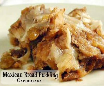 Mexican Bread Pudding