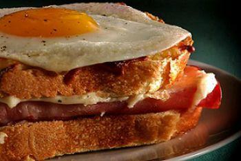 Croque Madame Egg Sandwich