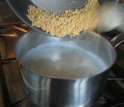 Adding Oatmeal to Milk