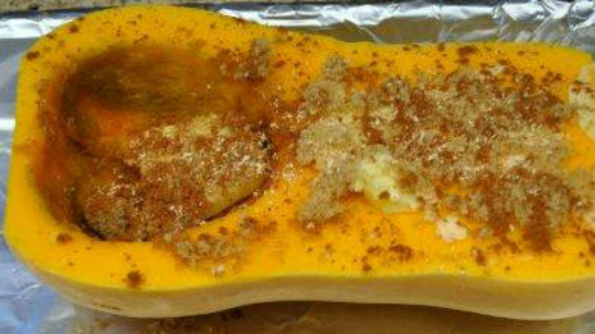 Roasted Butternut Squash with Cinnamon \u0026 Nutmeg Recipe