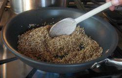 Stirring Oatmeal