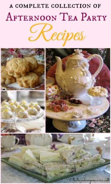 Afternoon Tea Party Recipes