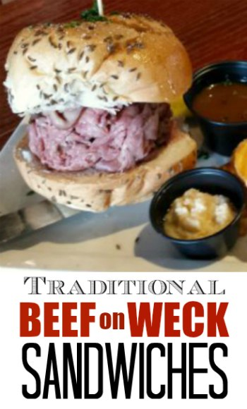Beef on Weck Sandwich