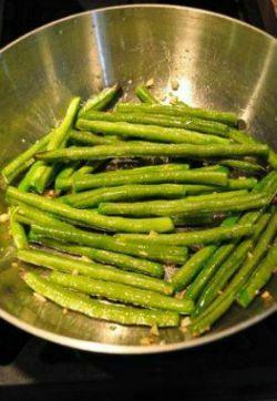 Sauteed Long Beans