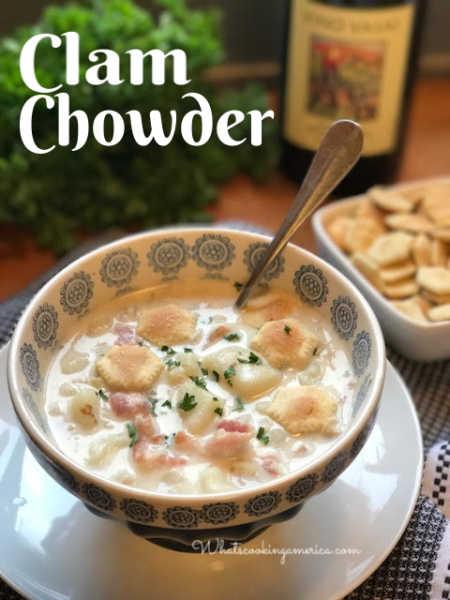 West Coast Clam Chowder