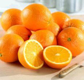 Frozen Orange Souffle