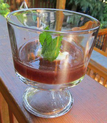 Plum Wine Soup