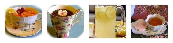 Afternoon Children's Tea menu Beverages