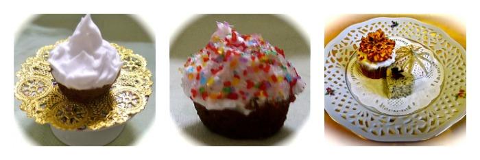Afternoon Children's Tea Menu Cupcakes