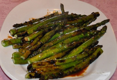 Oven roasted asparagus recipe whats cooking america oven roasted asparagus ccuart Gallery