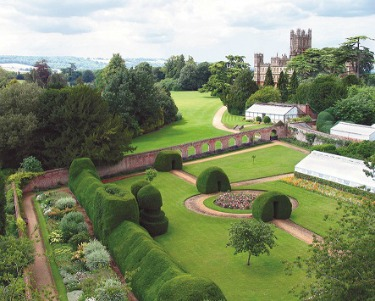 Highclere Castle Monks Garden