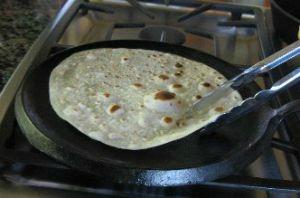 Cooking Tortilla