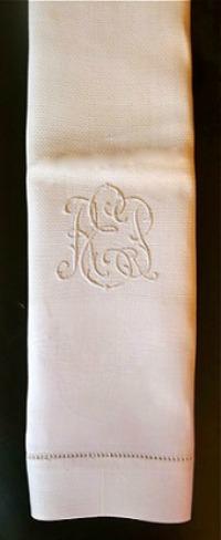 White Linen Dinner Napkin