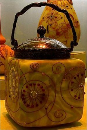 Embellished Tea Caddy