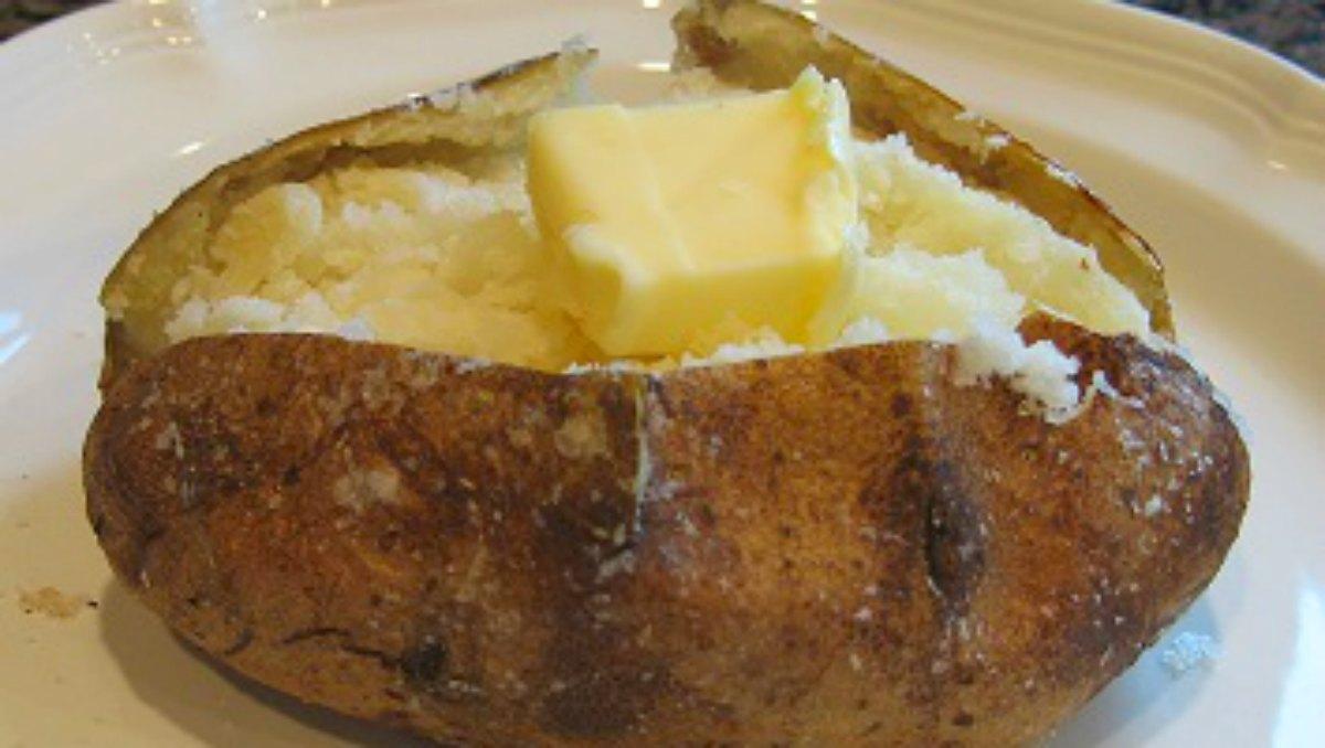 Perfect baked potato recipe no foil baked potato method ccuart Image collections