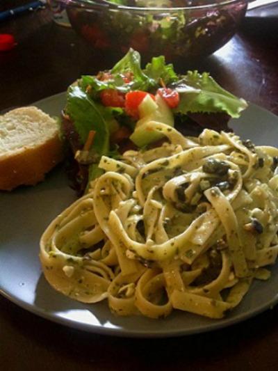 Fettuccine Piccata Pasta