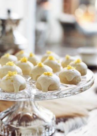 High Tea Lemon Cookies