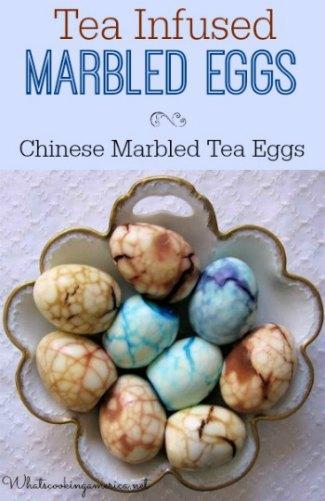 Tea Infused Marbled Eggs - Chinese Marbled Tea Eggs