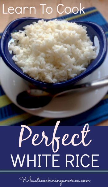 learn to cook Perfect White Rice