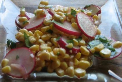 Corn Radish Salad