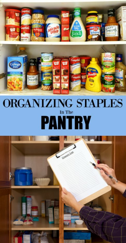 Organizing Kitchen Pantry