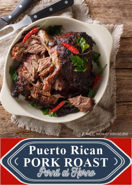Puerto Rican Pork Roast_Pernil al Horno