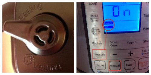 Instant Pot settings