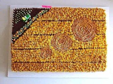 Crop Circle Cake