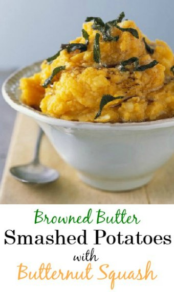 Browned Butter Smashed Potatoes