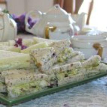 Egg Salad Tea Sandwiches