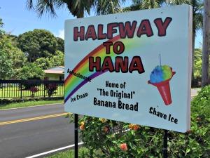 Halfway to Hana