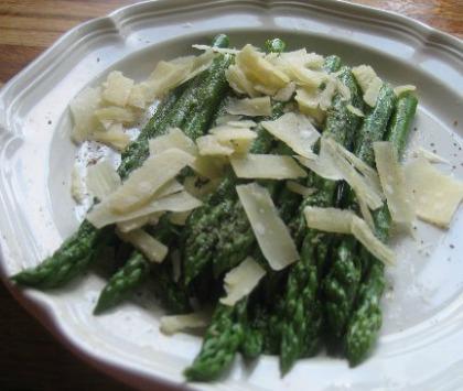Asparagus Parmigiano-Reggiano