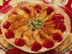 Fruity nachos