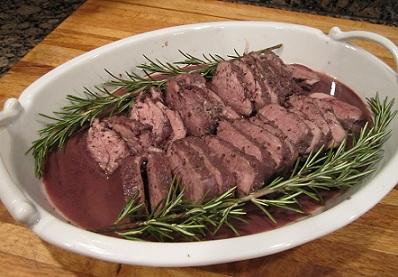 Zinful Pork Tenderloin Loin Dinner