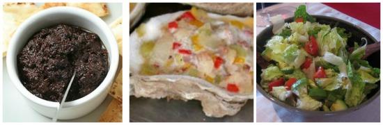 Baked Lobster Tails Dinner