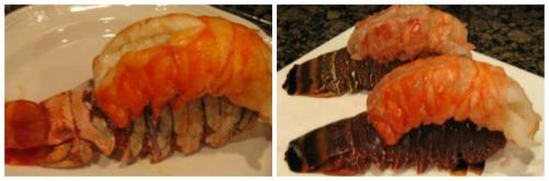 Lobster Tails Dinner