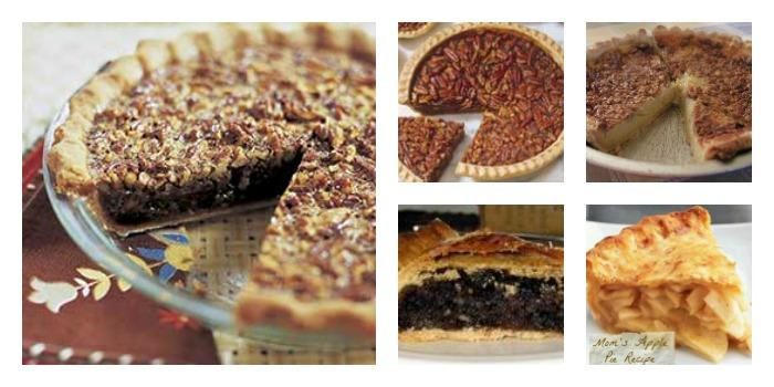 Five images of Turkey Dinner pie ideas
