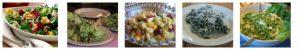 Five images of Turkey Dinner salad ideas
