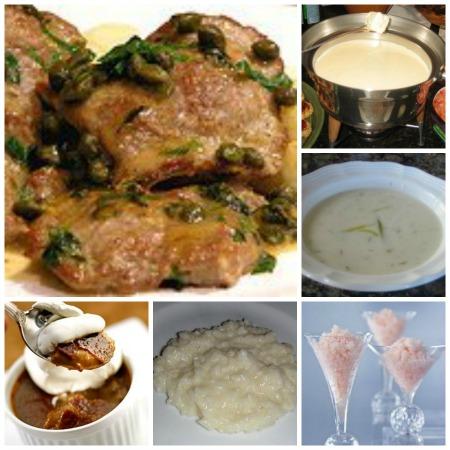 Scaloppine Piccata Dinner