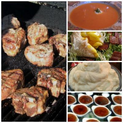 Lamb Loin Chop Menu
